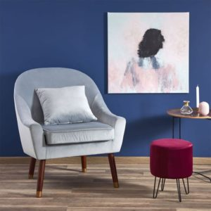 Кресло на высоких ножках