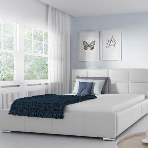 Белая кровать alita