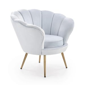 Белое кресло amorino