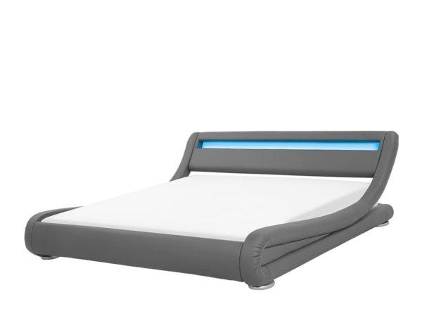 Кровать подсветка спальня