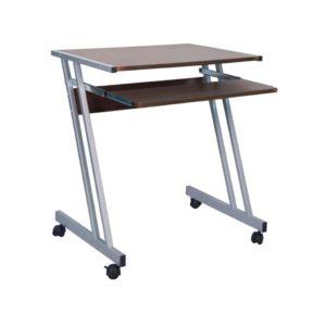 Компьютерный стол с полкой под клавиатуру