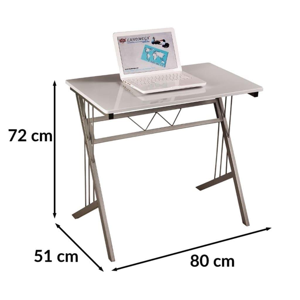 Столик компьютерный из стали и МДФ