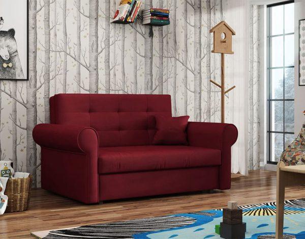 Красный диван cilvia
