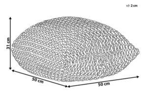 Размеры пуфика Conrad