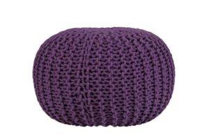 Фиолетовый пуфик Cooper