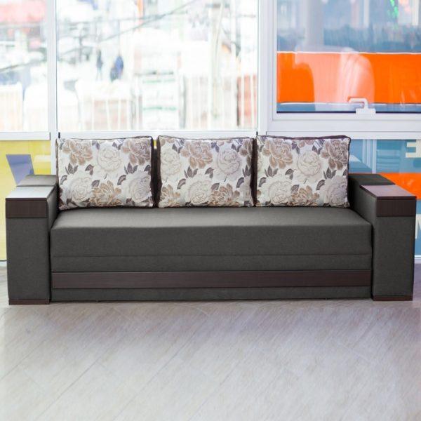 Серо-коричневый диванчик