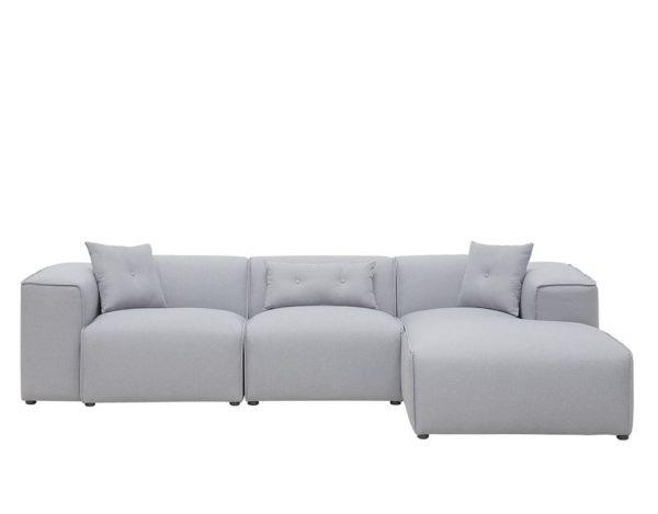 Серый диван хайтек