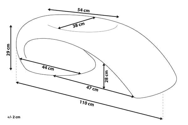 Размеры столика Elatus