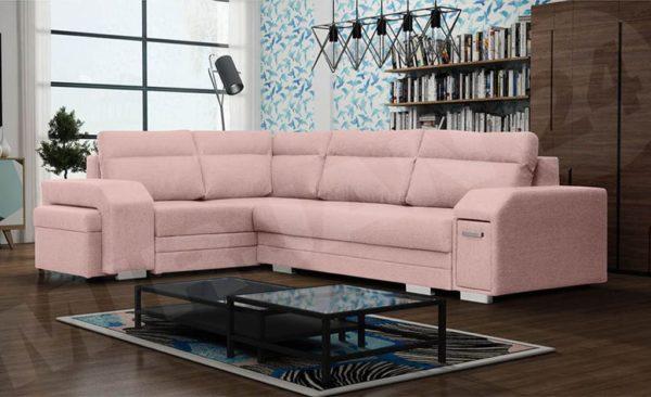 Розовый диванчик Florio7