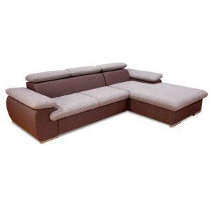 Коричневый диван Capris