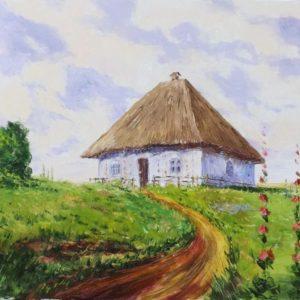 Картины маслом пейзажи