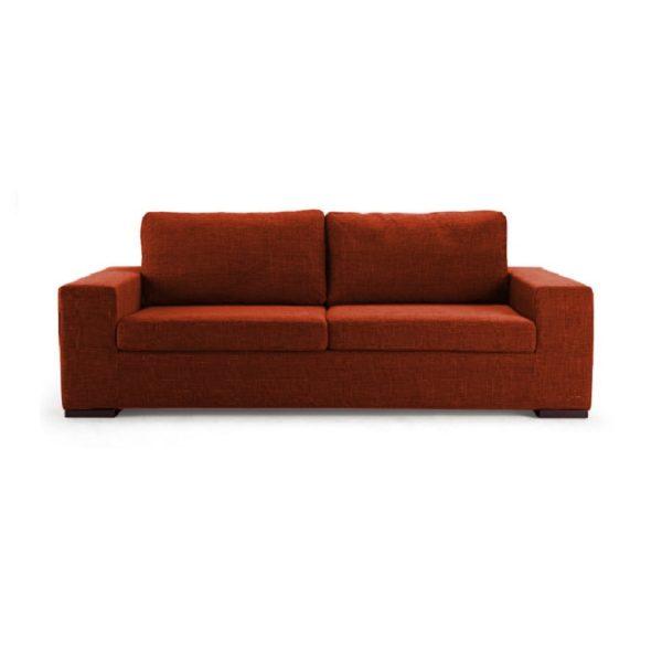 Темно-оранжевый диванчик