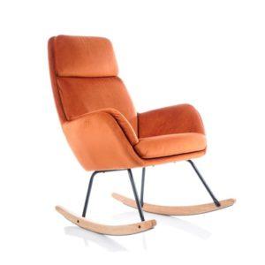 Стильное кресло качалка