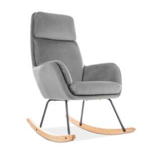 Мягкое кресло качалка