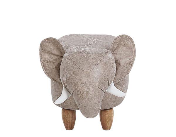 Декоративный пуф слон