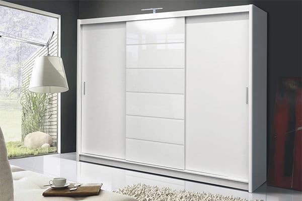 Белый шкаф-купе Kalito