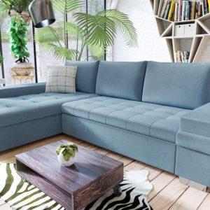 Спальный угловой диван