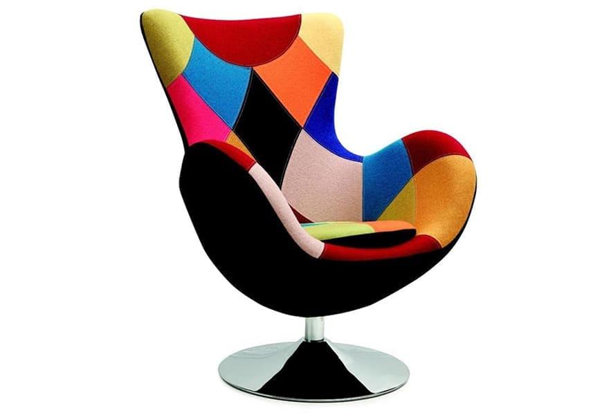 Кресло велюровая ткань