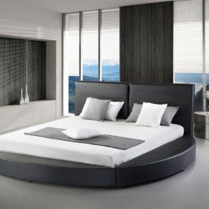 Двуспальная круглая кровать