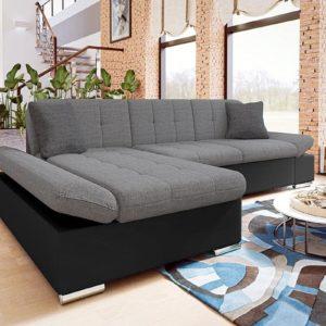 Черно-серый диван laviva
