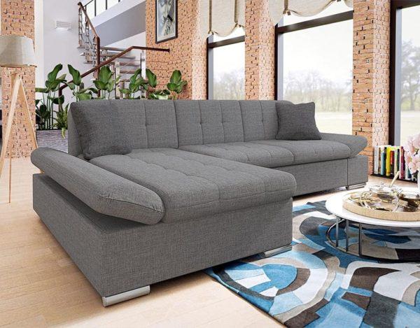 Серый диван laviva