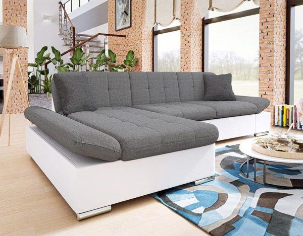 Серо-белый диван laviva