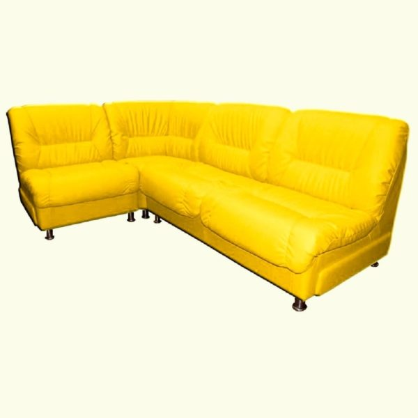 Диван Симпо жёлтый