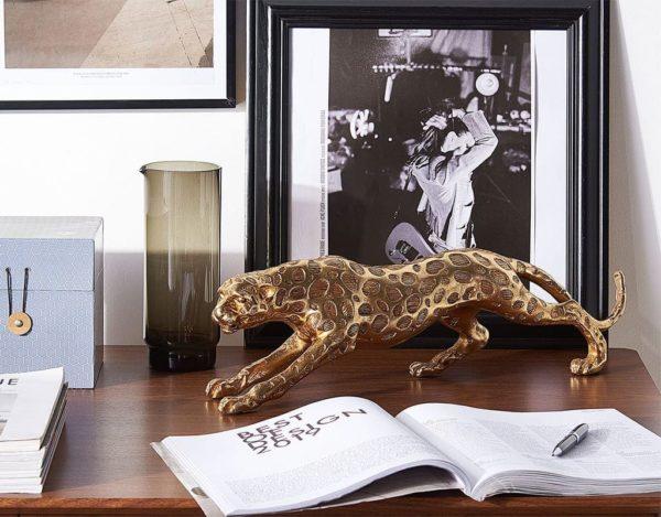 Золотая статуэтка леопарда