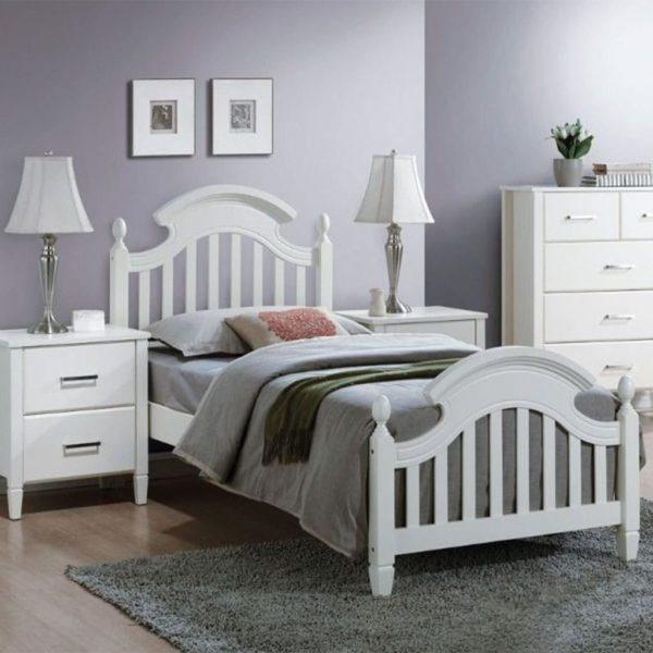 Недорогая односпальная кровать