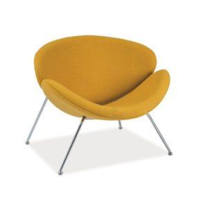 Желтое кресло Maajor