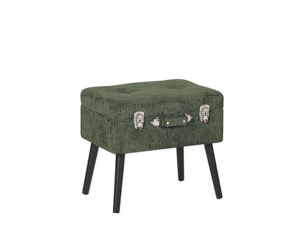 Зелёный чемодан стул