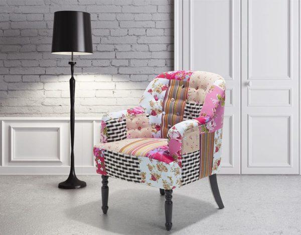 Кресло разноцветное Mandal
