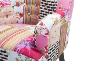 Кресло лоскутами Mandal