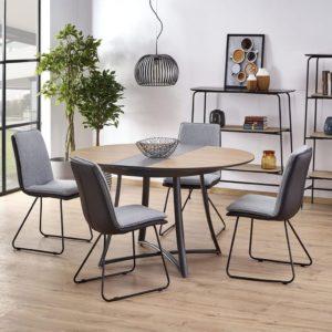 Круглый стол и 4 стула