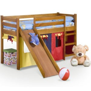 Детская кровать с горкой