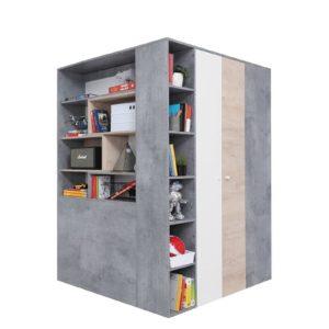 Комнатный угловой шкаф