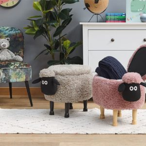 Купить пуфик овечка