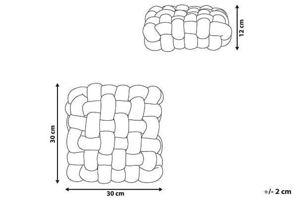 Размеры подушки Sirali