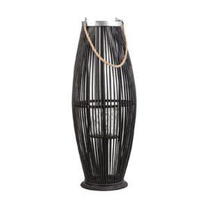 Декоративный черный фонарь