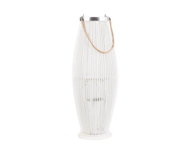 Белый декоративный фонарь