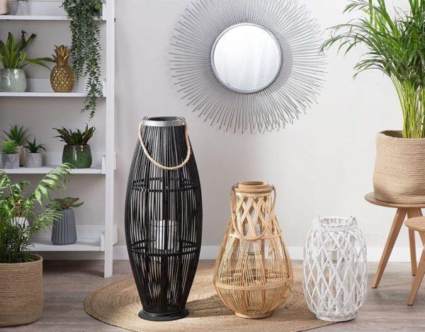 Декоративный фонарь из дерева