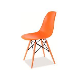 Оранжевый стул Tower1