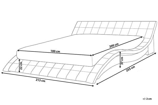 Размеры кровати Vichy