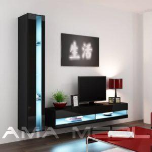 Современная модульная стенка в гостиную