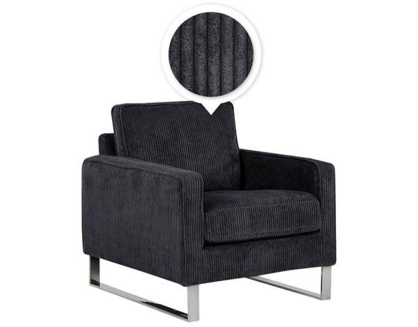Кресло вельвет Vind