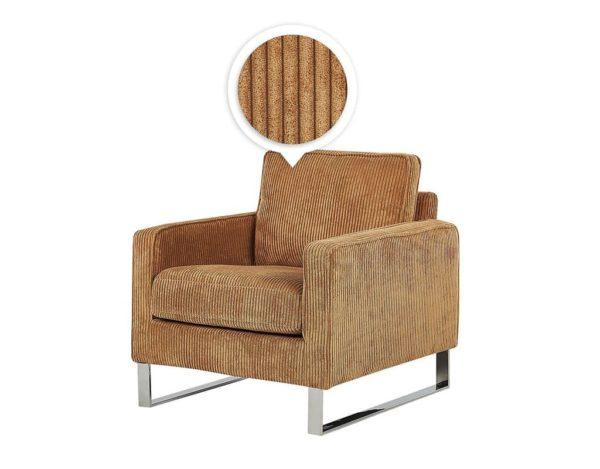 Кресло коричневое Vind