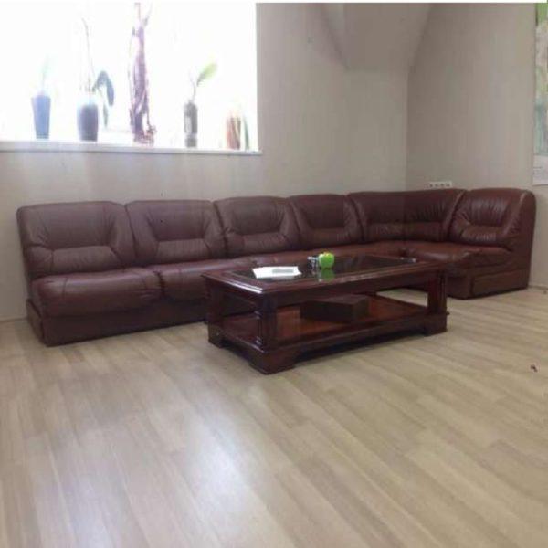 Модульный диван углом